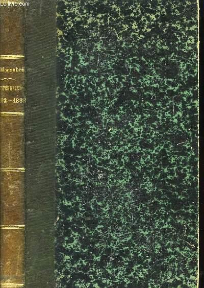 Conférences 1882 - 1888