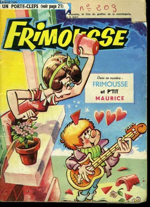 Frimousse n°203 : Frimousse et P'tit Maurice