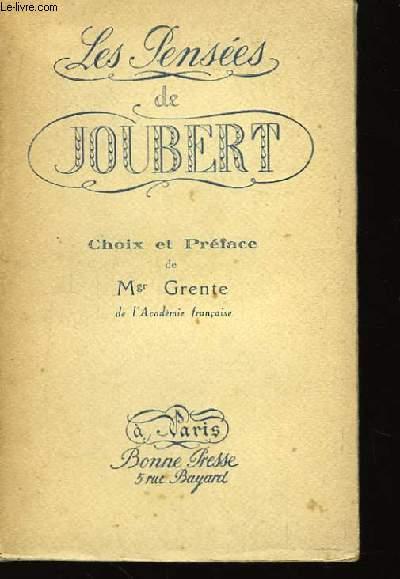 Les pensées de Joubert