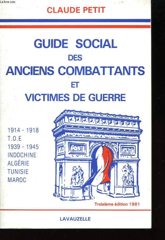 Guide Social des anciens combattants et victimes de guerre