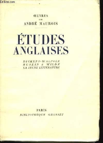 Etudes Anglaises.