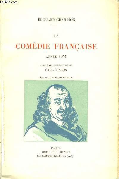 La Comédie Française. Année 1937
