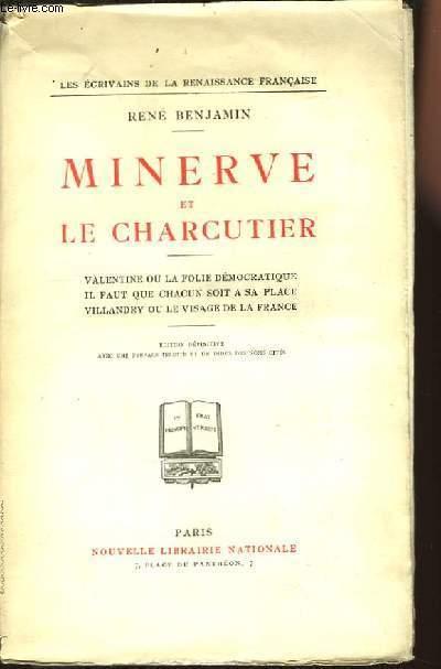 Minerve et le Charcutier.