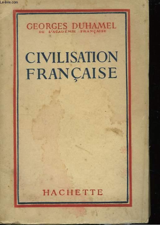Civilisation française.