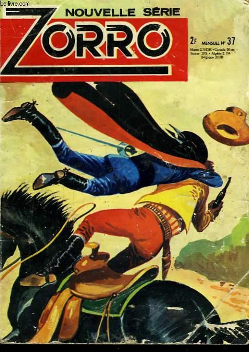 Zorro n°37 : Terreur à Cortessa