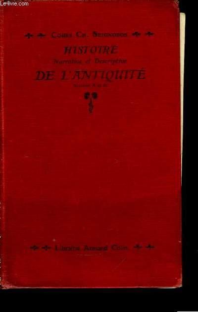 Histoire narrative et descriptive de l'Antiquité.