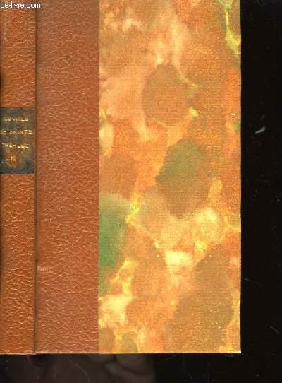 Oeuvres de Sainte Thérèse. TOME 2nd.