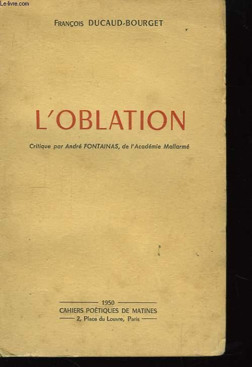 L'Oblation