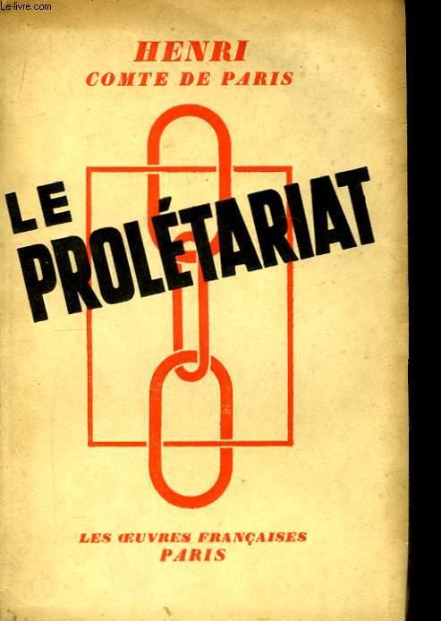 Le Prolétariat.