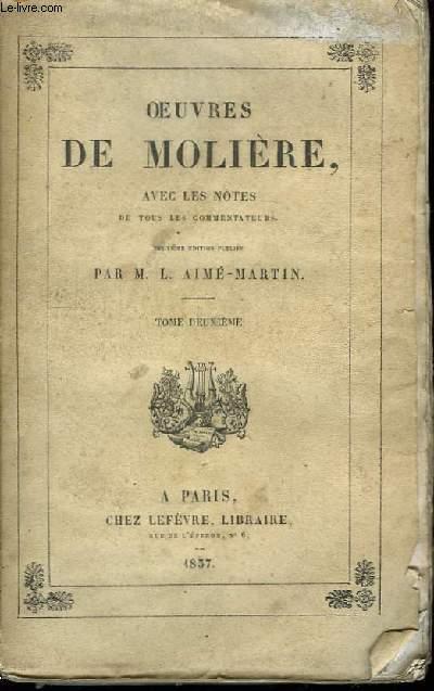 Oeuvres de Molière. TOME II
