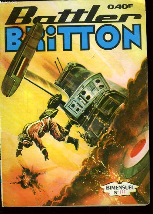 Battler Britton N°171 : Opération Scorpion.