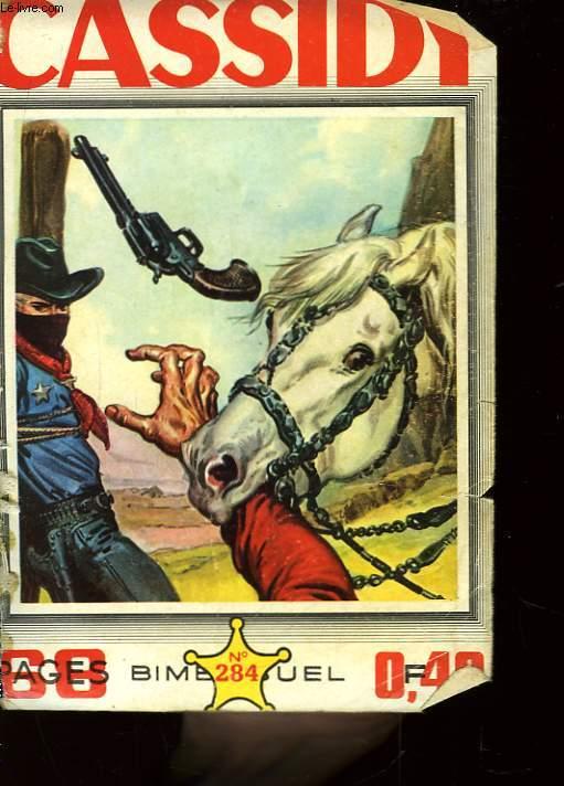 Cassidy n°284 : La carte déchirée.