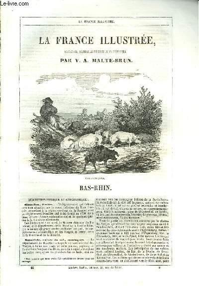 La France Illustrée. Bas-Rhin