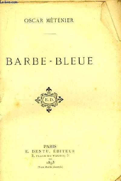 Barbe-Bleue.