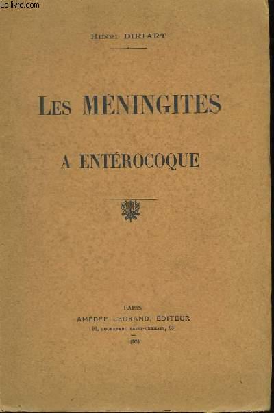 Les Méningites à Entérocoque.