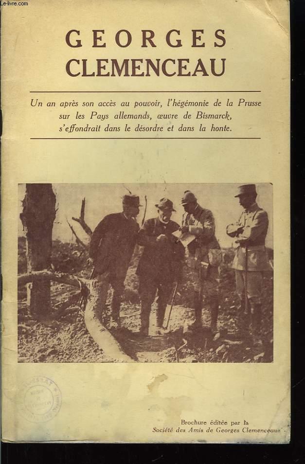 Georges Clémenceau.