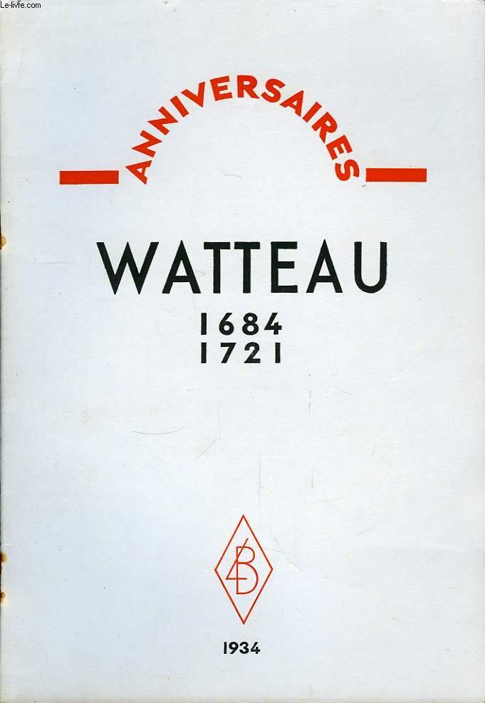 Watteau 1684 - 1721