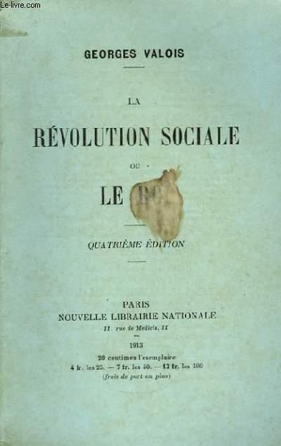 La Révolution Sociale ou Le Roi.