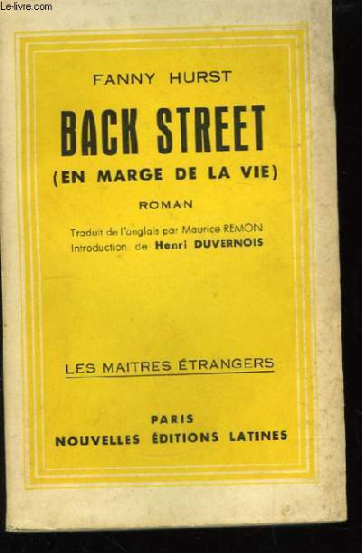 Back Street (En marge de la vie)
