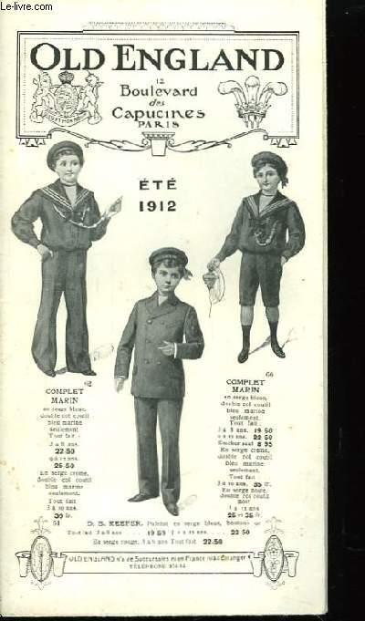 Catalogue Eté 1912
