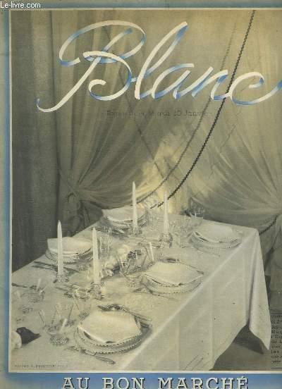 Catalogue de Blanc