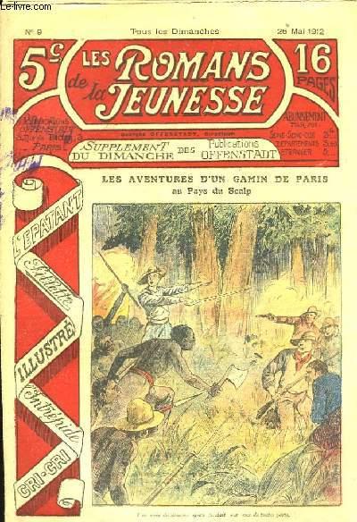 Les Romans de la Jeunesse, n°9 : Les aventures d'un gamin de Paris; au pays du scalp.