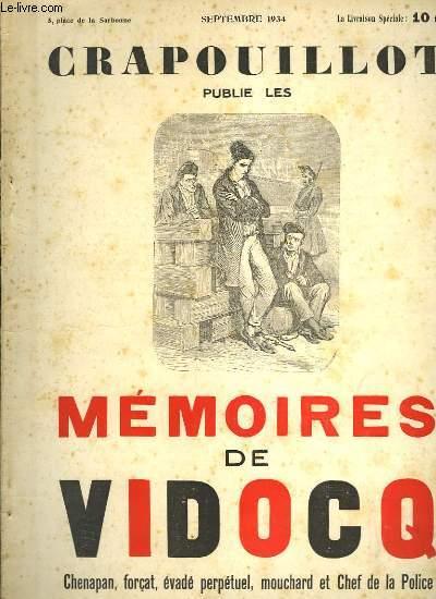 Crapouillot : Mémoires de Vidocq.