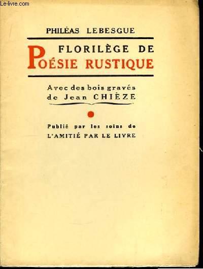 Florilège de Poésie Rustique.