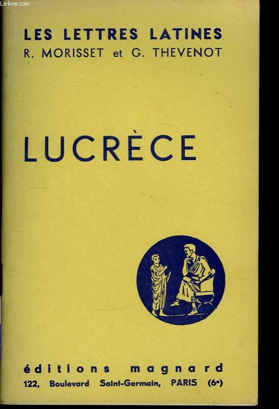 Lucrèce ( Chap. VIII des
