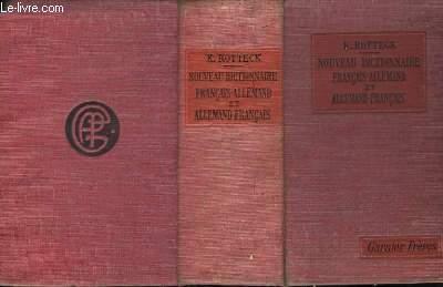 Nouveau Dictionnaire Allemand - Français et Français - Allemand