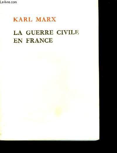 La guerre civile en France