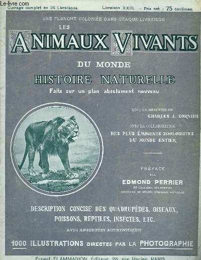 Les Animaux Vivants du Monde. Livraison XXIII