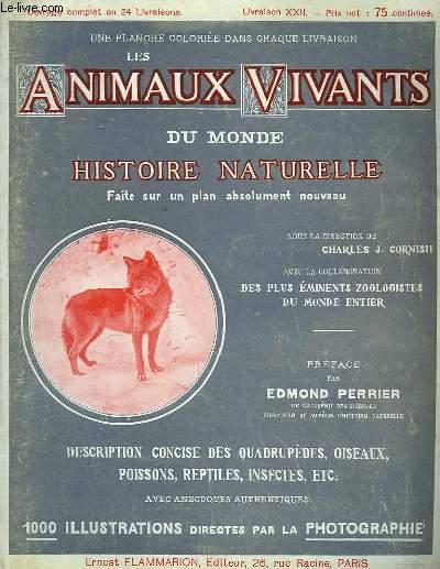Les Animaux Vivants du Monde. Livraison XXII