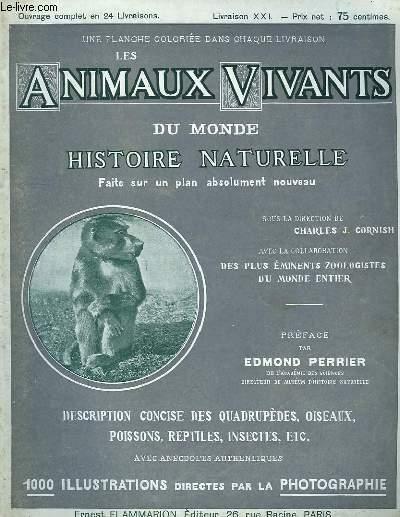 Les Animaux Vivants du Monde. Livraison XXI
