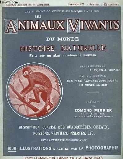 Les Animaux Vivants du Monde. Livraison XX