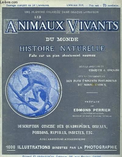 Les Animaux Vivants du Monde. Livraison XIX