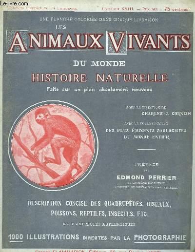 Les Animaux Vivants du Monde. Livraison XVIII