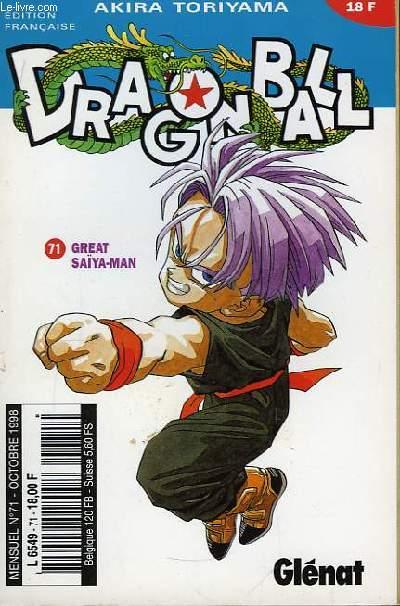 Dragon Ball N°71 : Great Saïya-Man