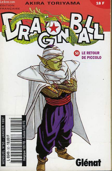 Dragon Ball N°50 : Le retour de Piccolo.