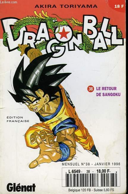 Dragon Ball N°38 : Le retour de Sangoku.