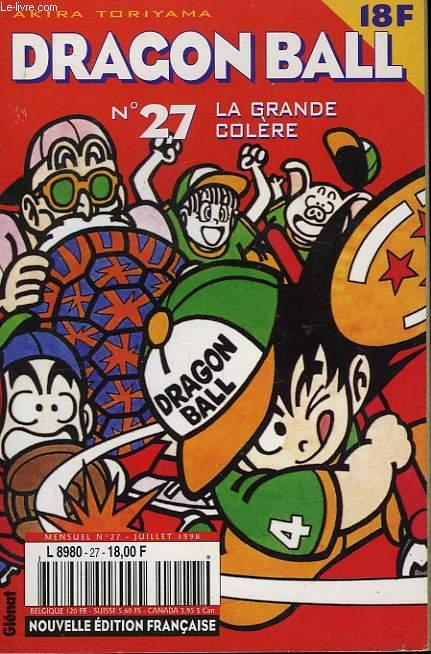 Dragon Ball N°27 : La Grande Colère.