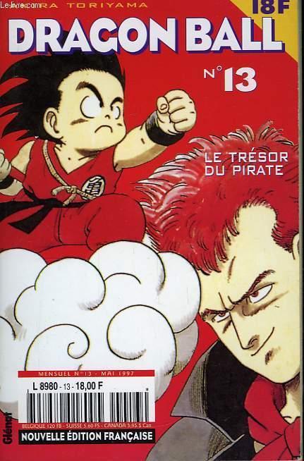 Dragon Ball N°13 : Le trésor du pirate.