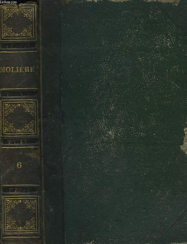 Oeuvres de Molière. TOME VI