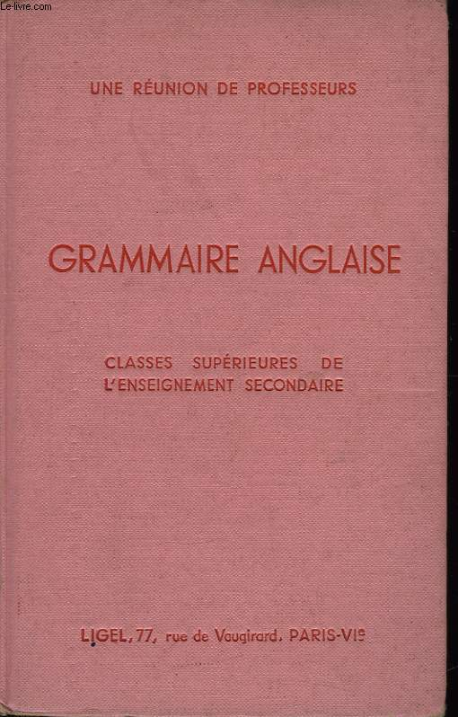 Grammaire Anglaise.