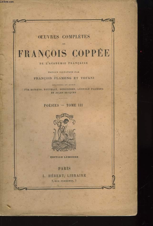 Oeuvres Complètes de François Coppée. Poésies. TOME II