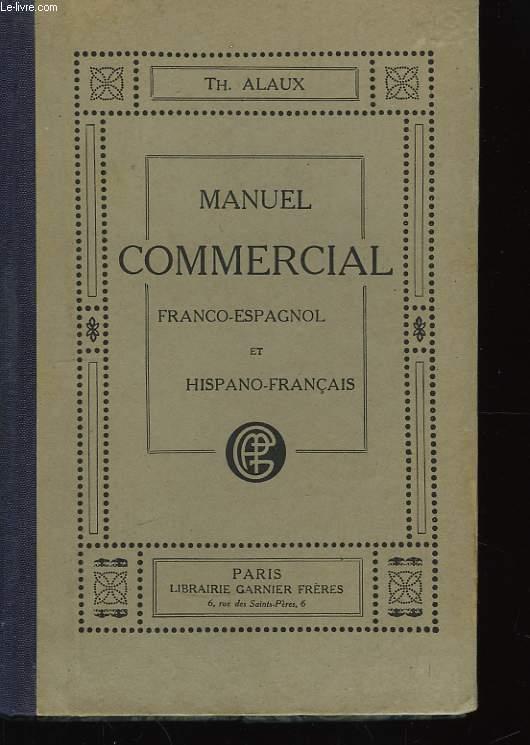 Manuel Commercial franco-espagnol et hispano-français.