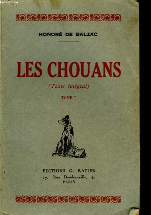 Les Chouans (Texte intégral). TOME I