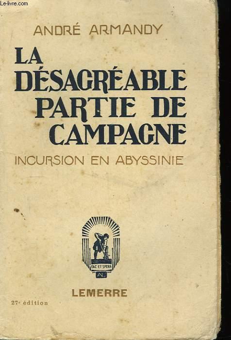 La Désagréable Partie de Campagne.