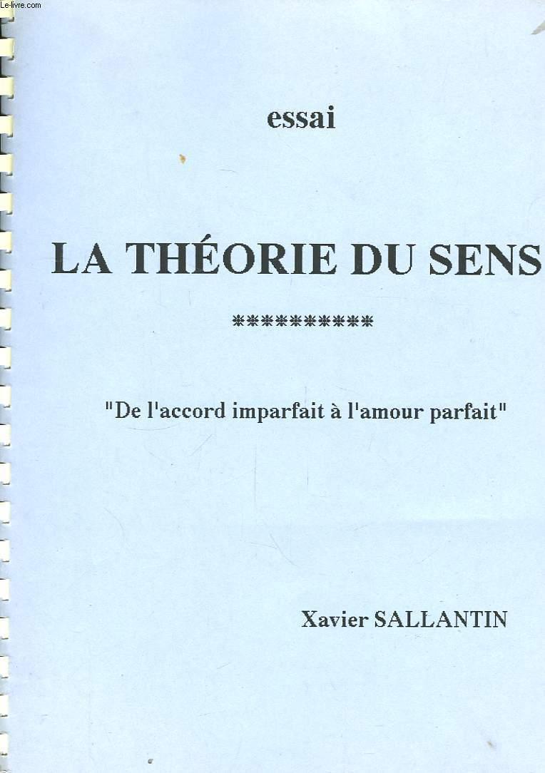 theorie du sens