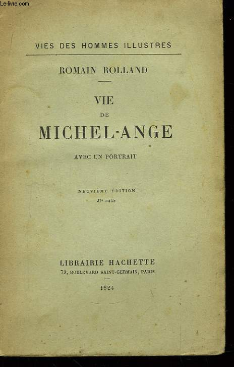 Vie de Michel-Ange.